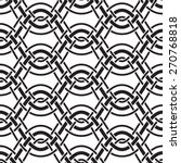 interlaced wavy lines  abstract ... | Shutterstock .eps vector #270768818