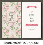 vintage card templates. can be... | Shutterstock .eps vector #270778532