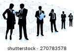 business team  | Shutterstock .eps vector #270783578