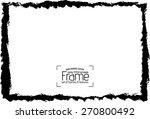 grunge frame   abstract texture.... | Shutterstock .eps vector #270800492