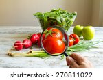 analysing food  pesticides free ... | Shutterstock . vector #270811022