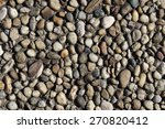 Pebbles Embedded Stone Texture...