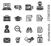 job icon set | Shutterstock .eps vector #270825308