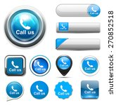 call us icon   Shutterstock .eps vector #270852518