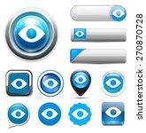 eye icon | Shutterstock .eps vector #270870728