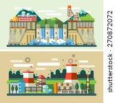 industrial landscapes ... | Shutterstock .eps vector #270872072