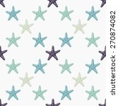 seamless pattern with hand... | Shutterstock . vector #270874082