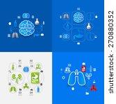 medicine sticker infographic | Shutterstock .eps vector #270880352