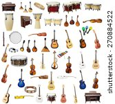 the image of music instruments... | Shutterstock . vector #270884522