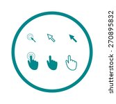 cursor pointer icons. mouse ...