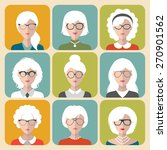 vector set of different old... | Shutterstock .eps vector #270901562