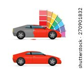 car painting | Shutterstock .eps vector #270901832