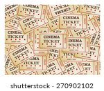 cinema tickets  background ... | Shutterstock .eps vector #270902102