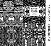 set of  seamless trendy african ...   Shutterstock .eps vector #270915482