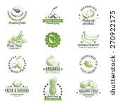 vector set of labels  badges... | Shutterstock .eps vector #270922175