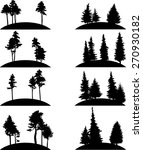 set of different landscapes... | Shutterstock .eps vector #270930182