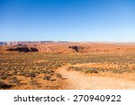 arizona desert near colorado... | Shutterstock . vector #270940922