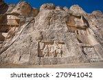 Rock Relief Carved Between 239...