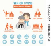 senior living health care... | Shutterstock .eps vector #270944492
