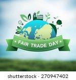 digitally generated fair trade... | Shutterstock .eps vector #270947402