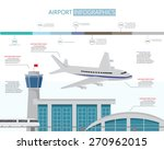 airport business infographics... | Shutterstock .eps vector #270962015