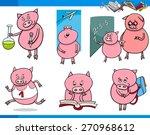 cartoon vector illustration of... | Shutterstock .eps vector #270968612
