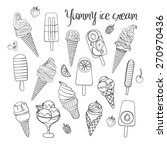 vector illustration of yummy... | Shutterstock .eps vector #270970436