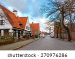Ancient Medieval Streets In Th...