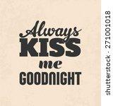 retro typographic poster design ... | Shutterstock .eps vector #271001018