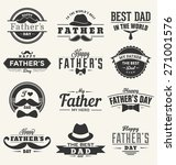 happy father's day design... | Shutterstock .eps vector #271001576