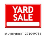 yard sale vector sign | Shutterstock .eps vector #271049756