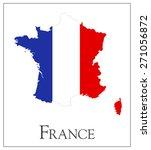 vector illustration of france... | Shutterstock .eps vector #271056872