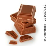 sweet chocolate isolated on... | Shutterstock . vector #271067162