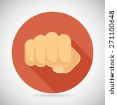 punch fist hand palm icon... | Shutterstock .eps vector #271100648