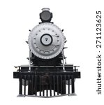 Train With A Clipping Path.