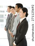 multi ethnic business people... | Shutterstock . vector #271125692