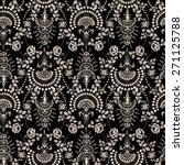 lace seamless pattern with...   Shutterstock .eps vector #271125788
