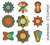 abstract logo vector collection.... | Shutterstock .eps vector #271129325