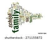 vector concept or conceptual... | Shutterstock .eps vector #271155872