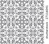 abstract seamless repeat pattern | Shutterstock .eps vector #27116041
