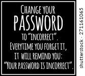 funny  inspirational  vector... | Shutterstock .eps vector #271161065