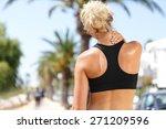 neck pain during training.... | Shutterstock . vector #271209596