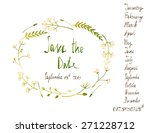 Rustic Wreath Save The Date...