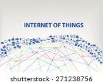 internet of things  iot  global ... | Shutterstock .eps vector #271238756