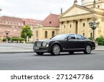 Постер, плакат: Bentley Mulsanne at the