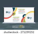 dynamic business theme outdoor... | Shutterstock .eps vector #271259252