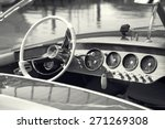 vintage luxury boat commands