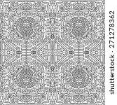 seamless  pattern. ethnic... | Shutterstock .eps vector #271278362