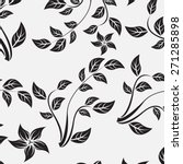 vector seamples floral flower...   Shutterstock .eps vector #271285898
