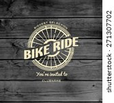bicycle badges logos and labels ... | Shutterstock .eps vector #271307702